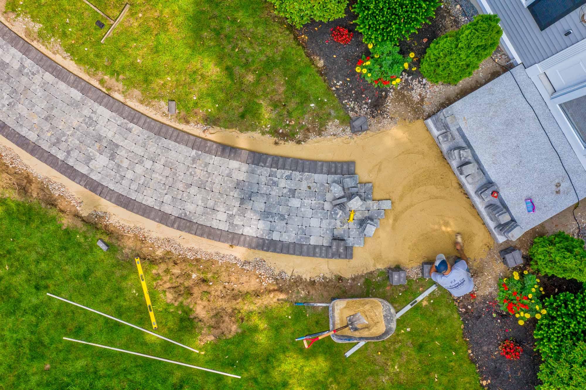 CJ Pickering - 7 Christina Drive Walkway Progress