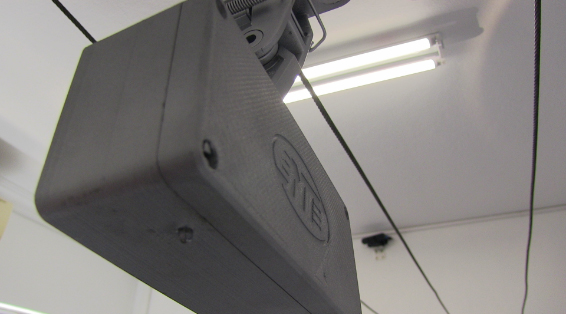 the overhead conductor alarm, A small box that utilizes bi-directional features to activate