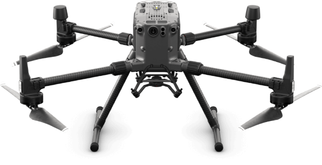 Drone used for security