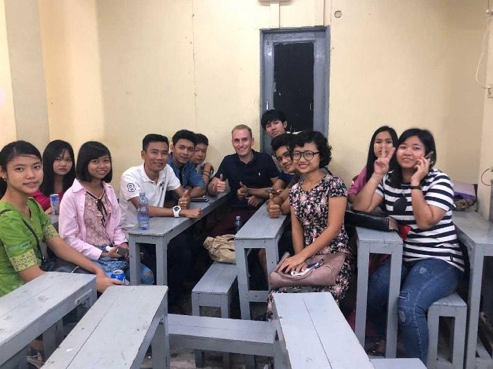 students group with maximum life in yangon burma