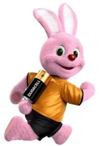 duracell rabbit running