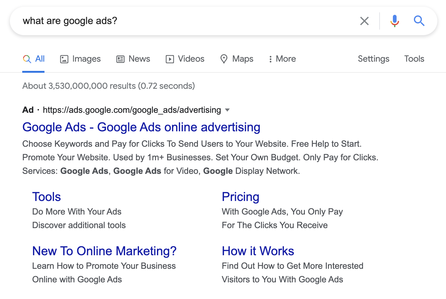What are Google Ads?