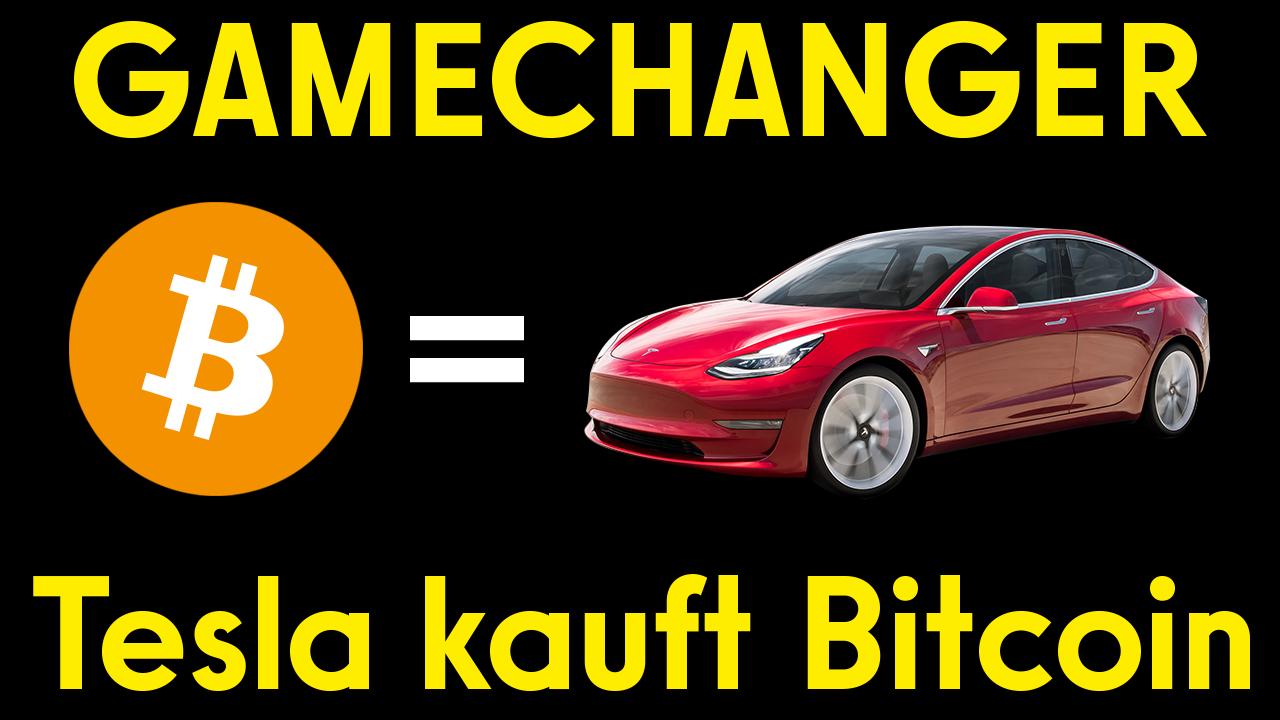 Youtube: Tesla kauft Bitcoin