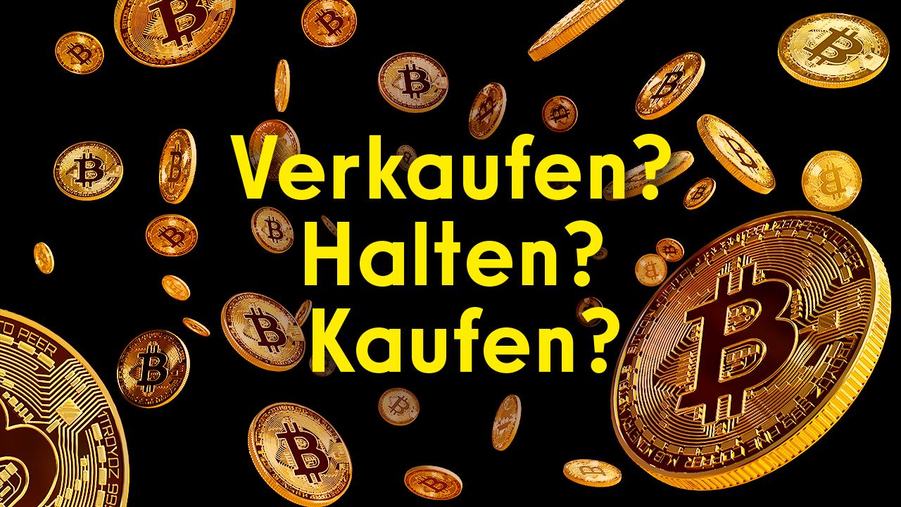 Youtube: BITCOIN - verkaufen, halten oder kaufen?