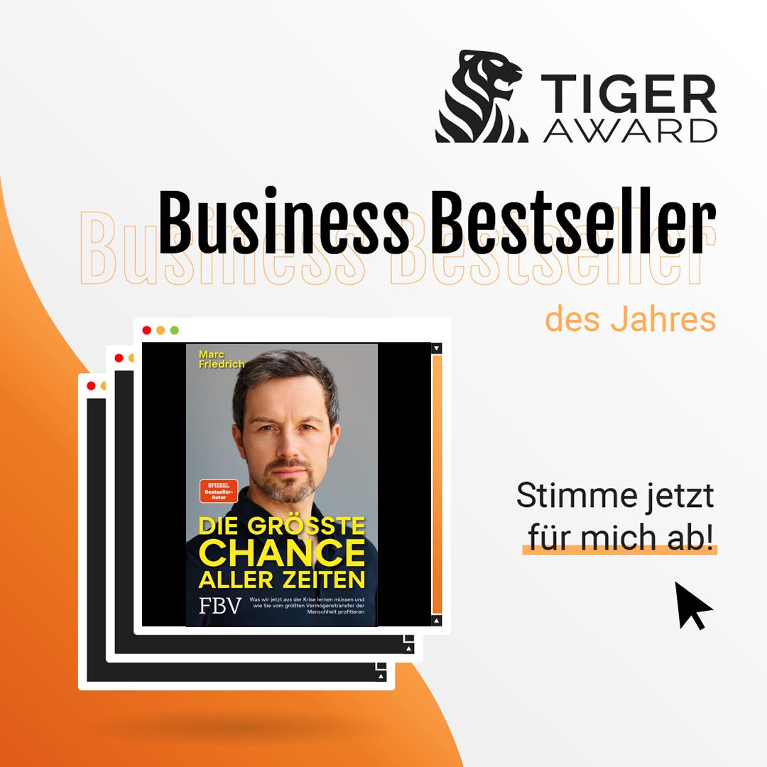Abstimmung Tiger Award 2021