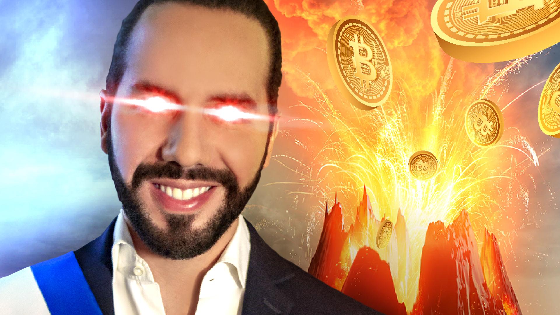 YouTube: BITCOIN wird Geld - der Vulkan explodiert! (Politik in Angst und Panik)