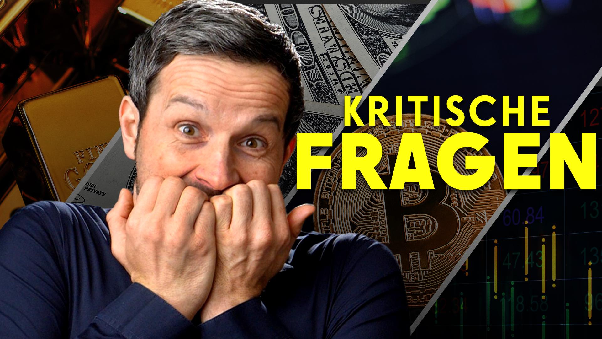 YouTube: Marc Friedrich auf dem PRÜFSTAND! (Streitgespräch zu Bitcoin, Politik, Geld)