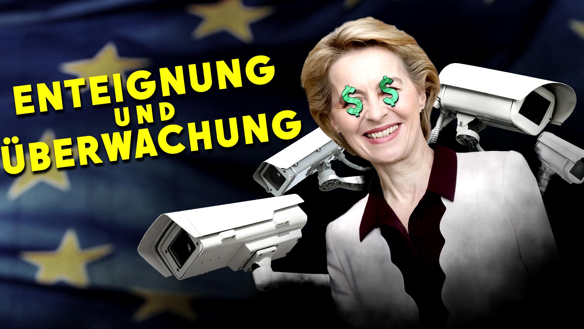 YouTube: Totale Kontrolle - EU will Vermögensregister (+ Bargeldobergrenze)