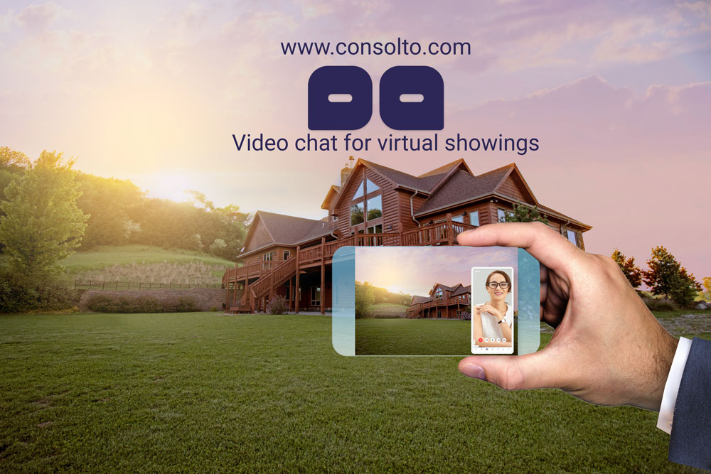 Virtual showings with Consolto.com video chat