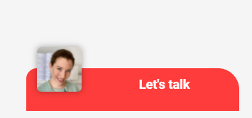 Consolto video chat - small widget with logo