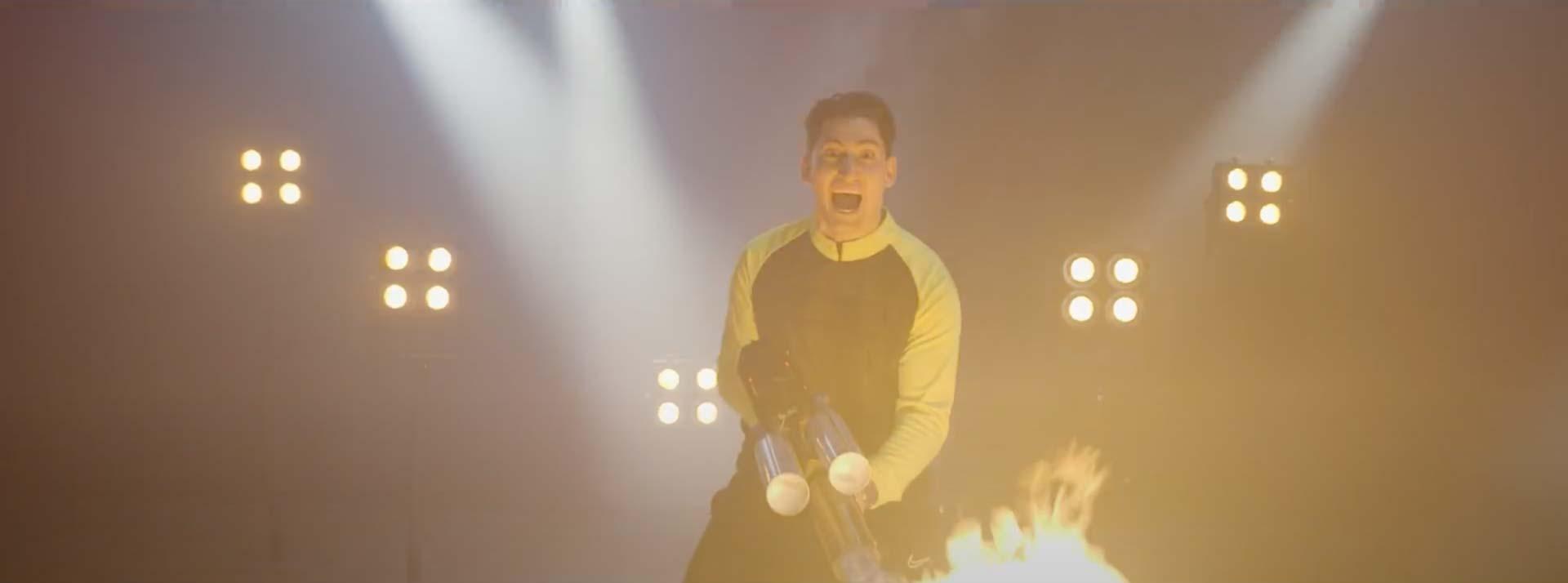 Musikvideo Screenshot Cimbo Bize Ne