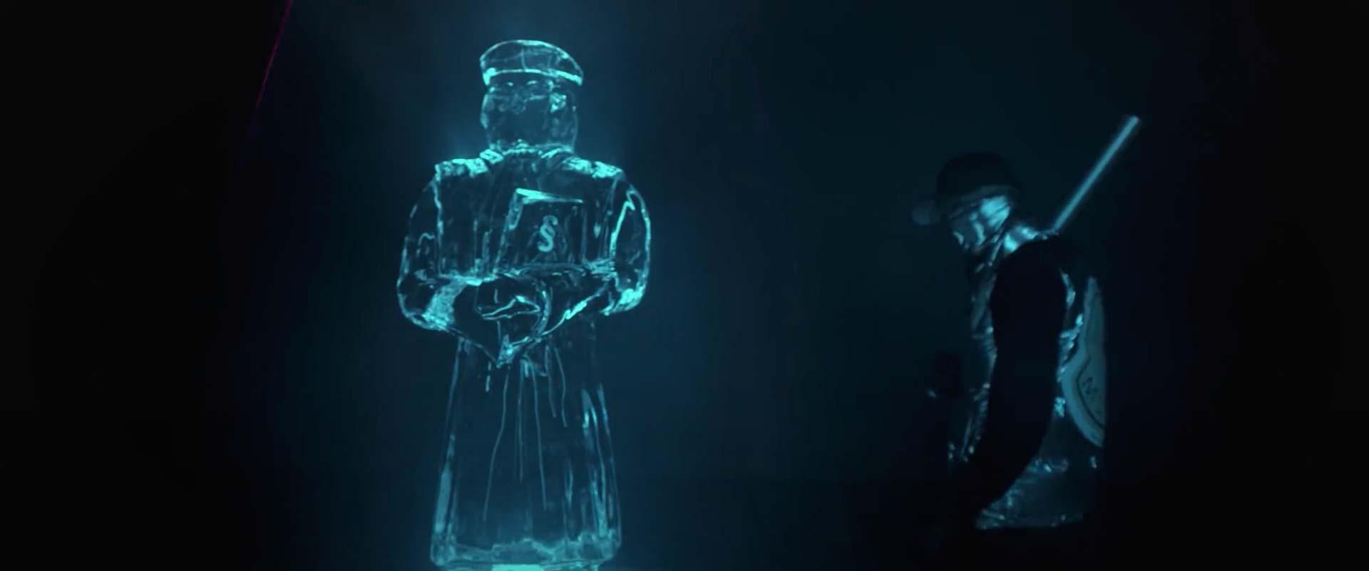 Musikvideo Screenshot AK Ausserkontrolle Kristall 2
