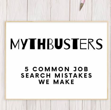 5 common Job Search Mistakes