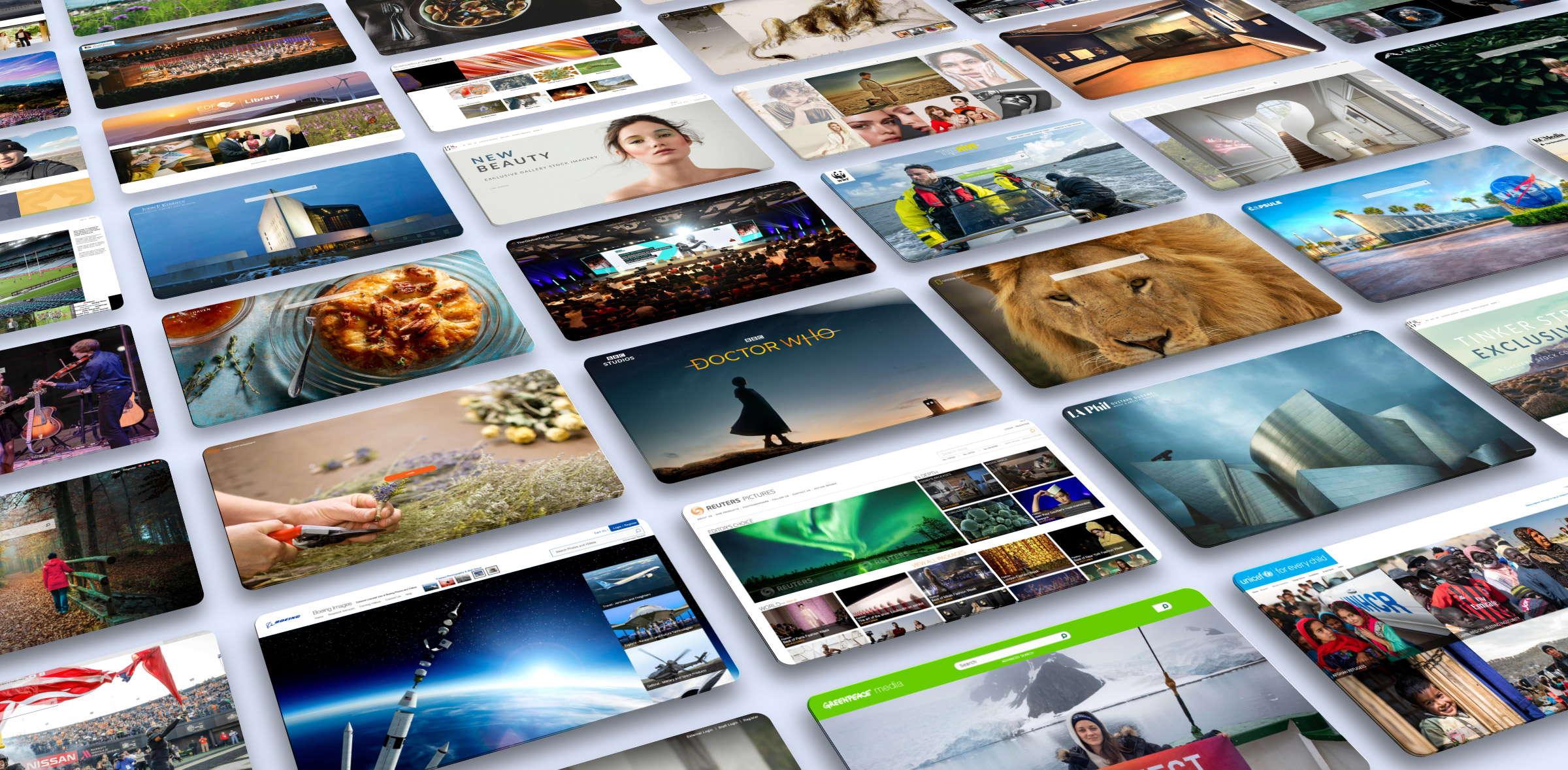 enterprise dam software screenshots