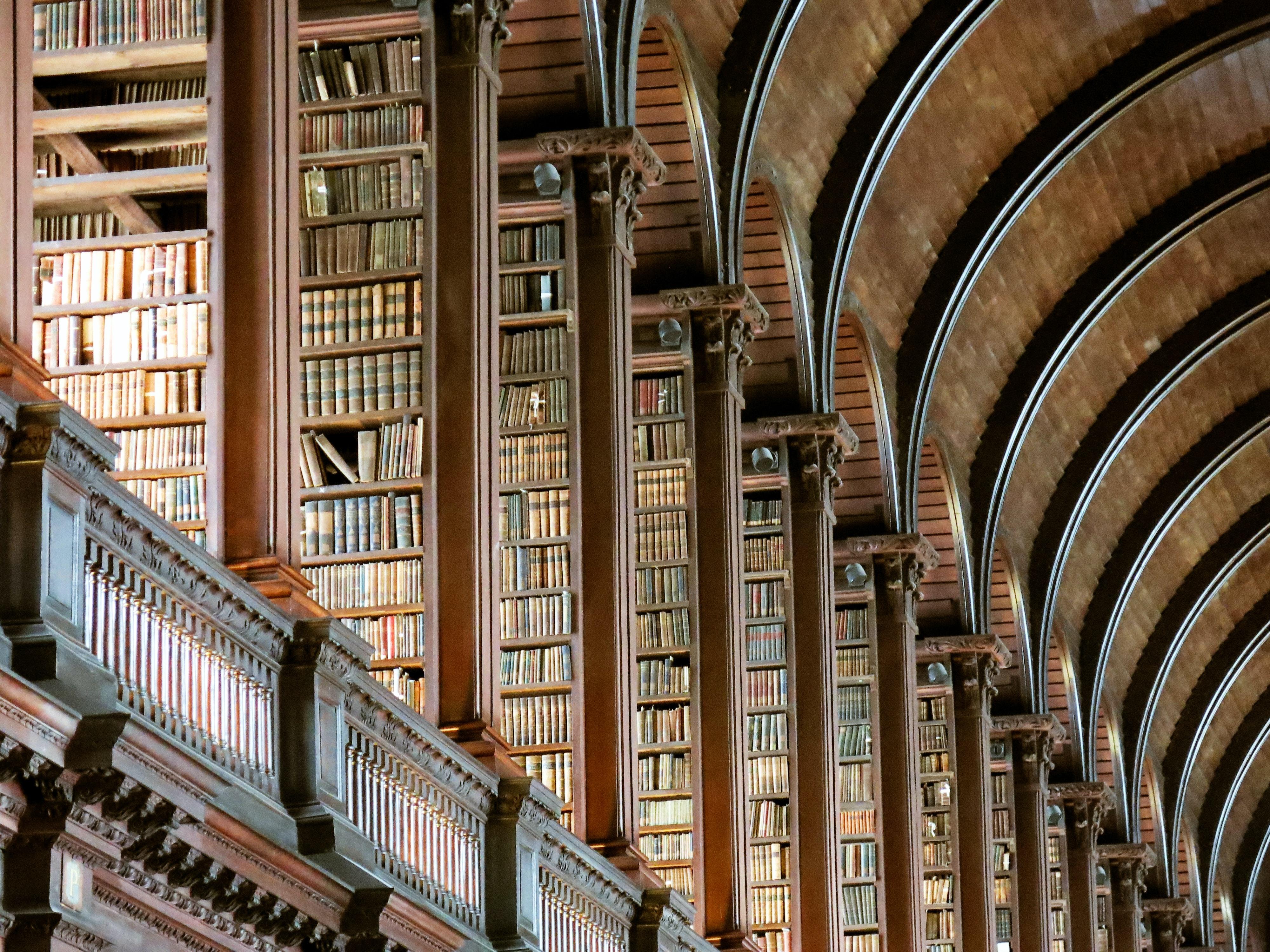 organized library