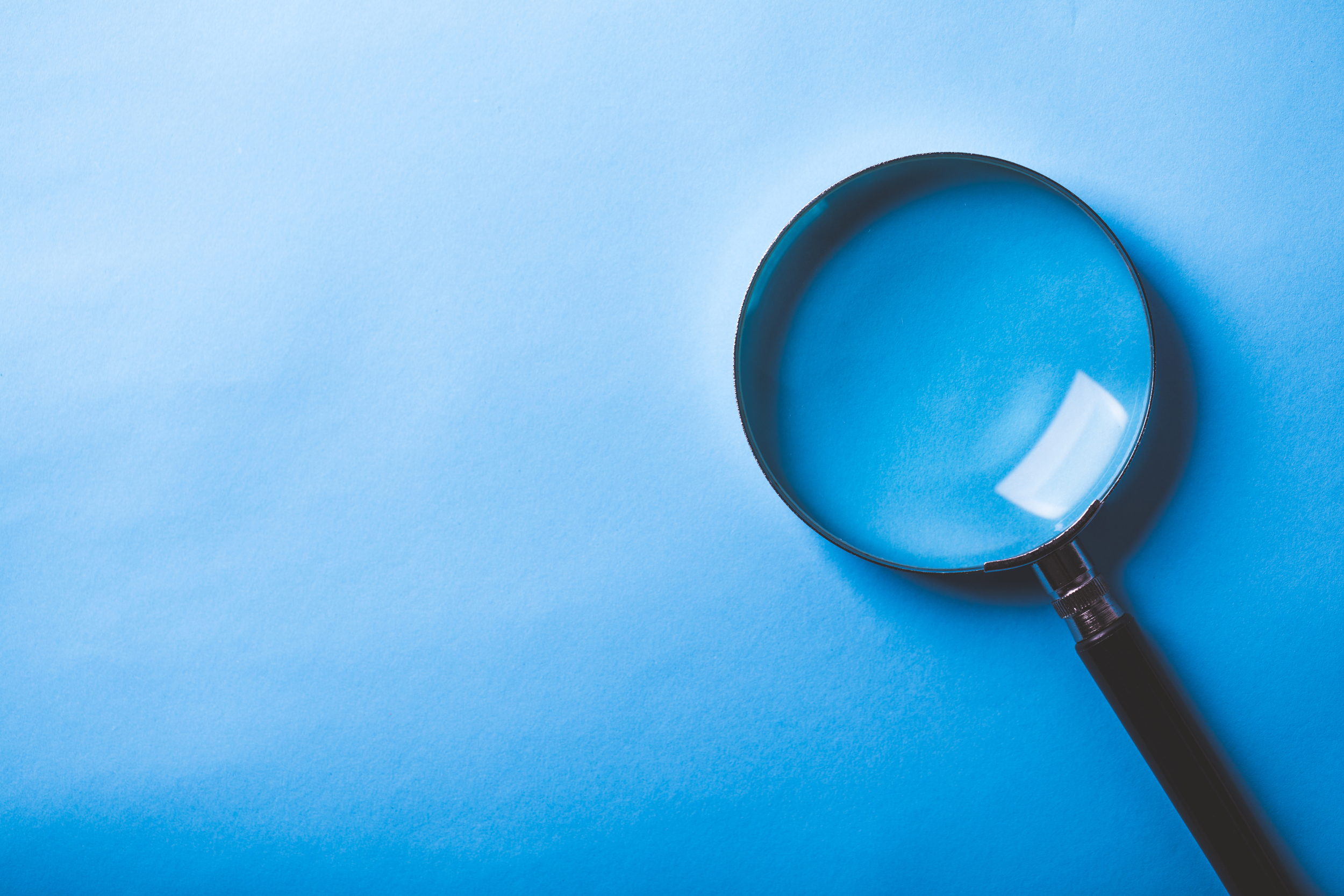 magnifying glass for search