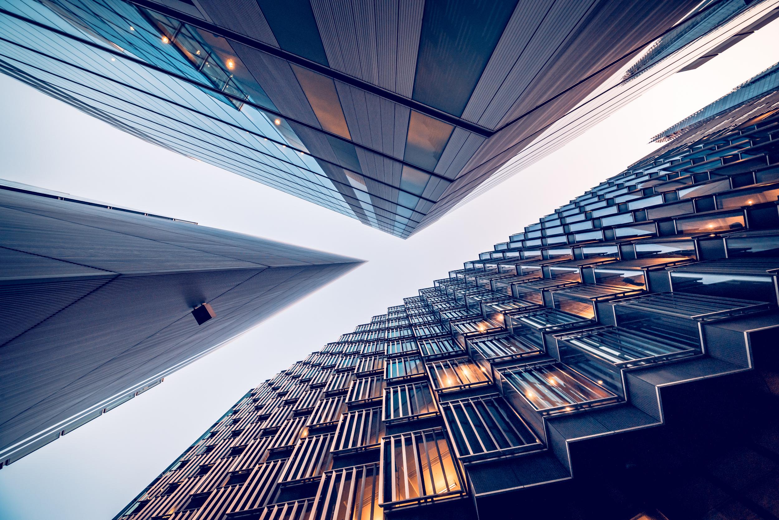 financial district buildings