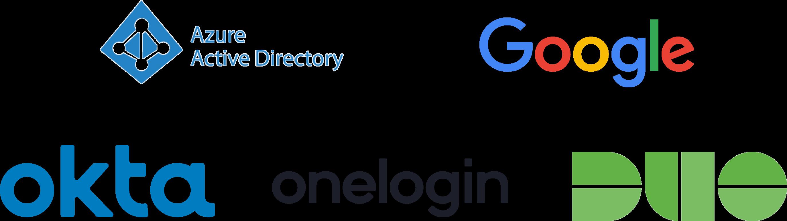 single sign on sso option logos
