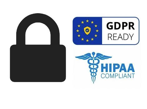 DAM compliance logos