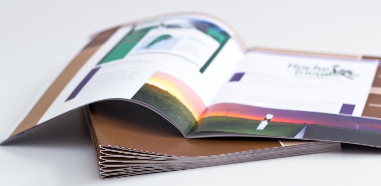 custom brochures from dam