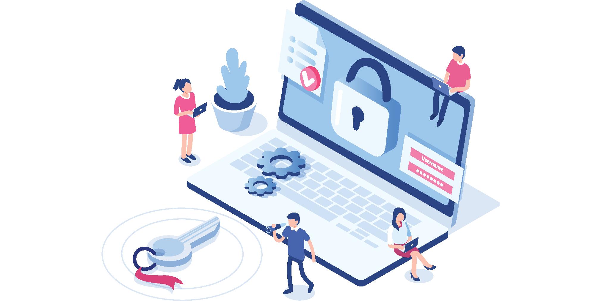 dam security illustration