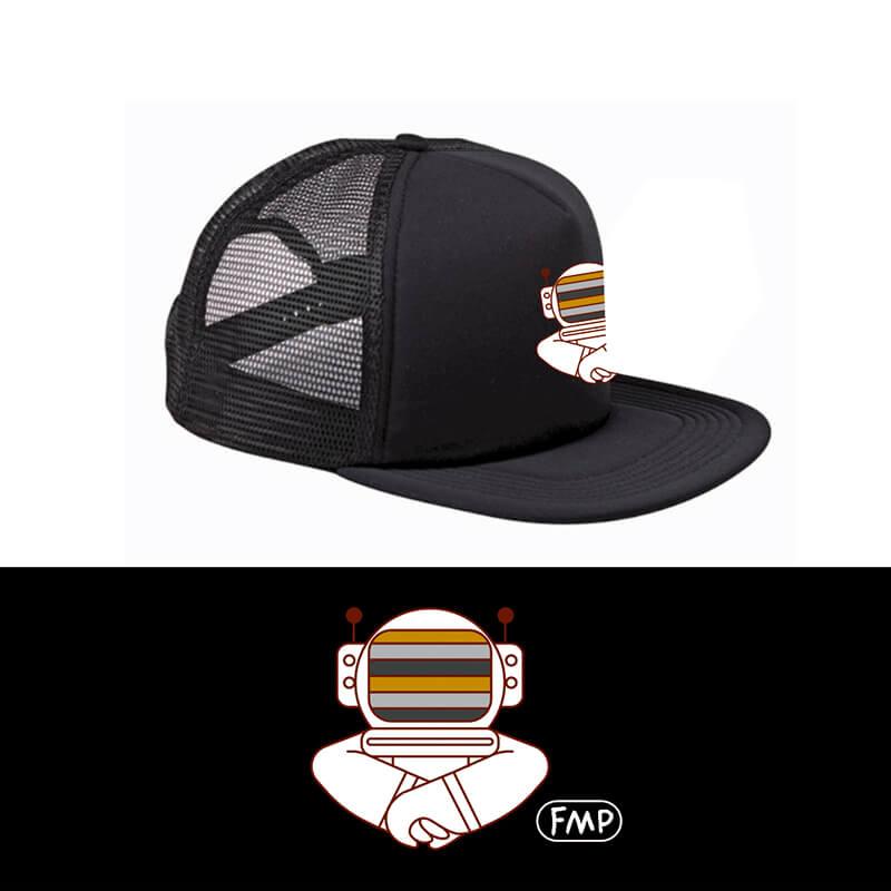 Foam Trucker Hat - Spaceman
