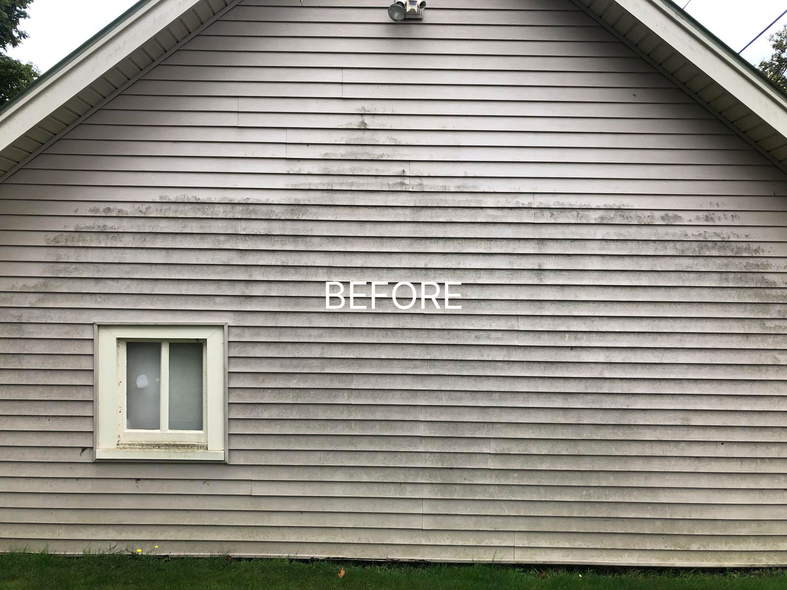 stained siding