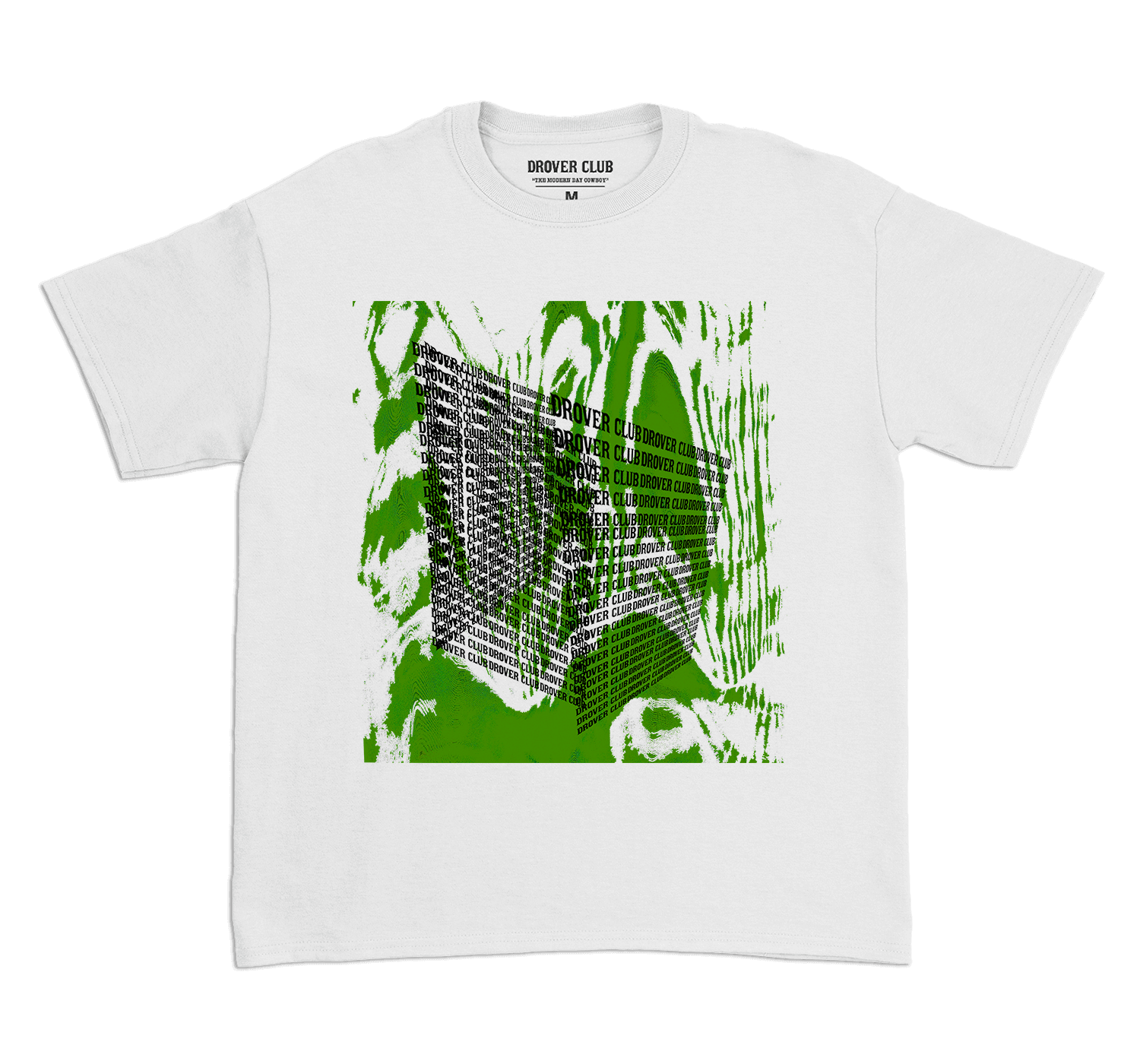 """Maverick splash green tee from the """"Maverick Adventure"""" collection released by Drover club"""