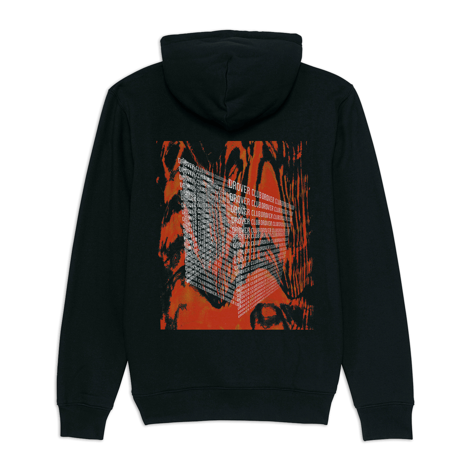 """Maverick splash black hoodie from the """"Maverick Adventure"""" collection released by Drover club"""