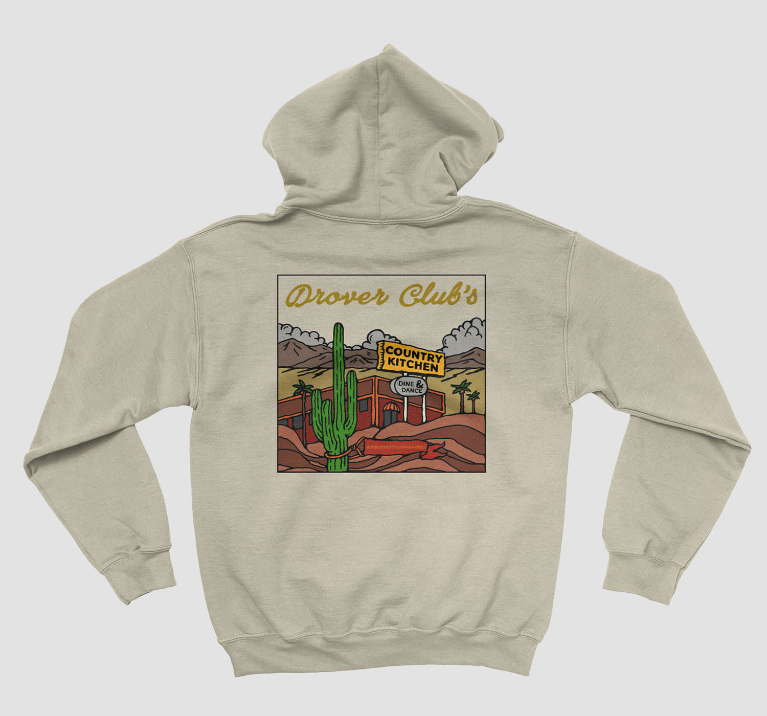 Country Kitchen Front Hoodie