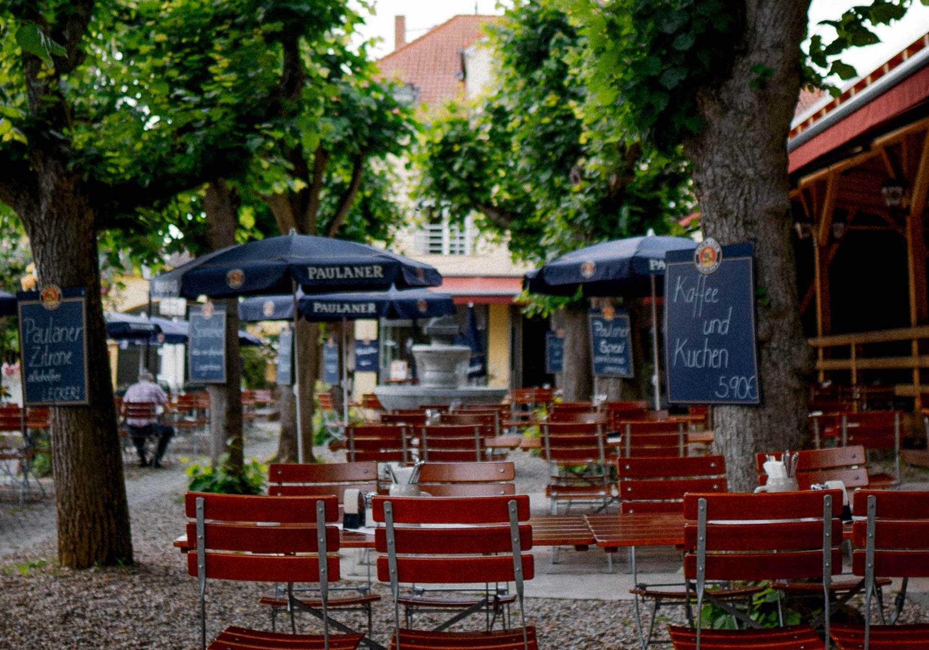 Biergarten Wirtshaus Straßenmühle
