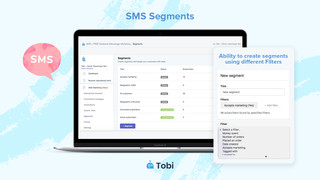 Tobi ‑ FB & SMS text marketing