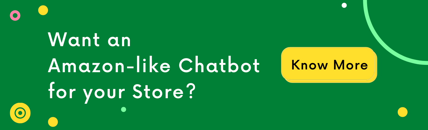 Amazon Like Chatbot for Shopify