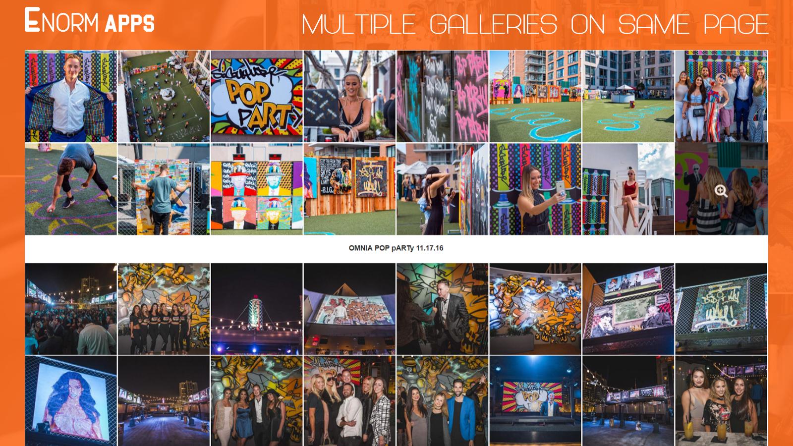 Image Gallery + Video ‑ EA