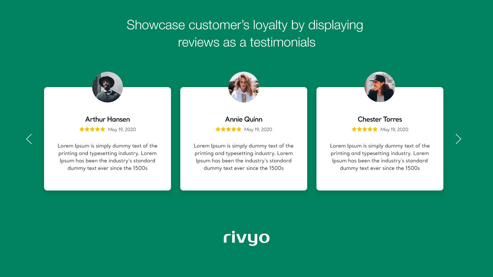 Rivyo Product Reviews