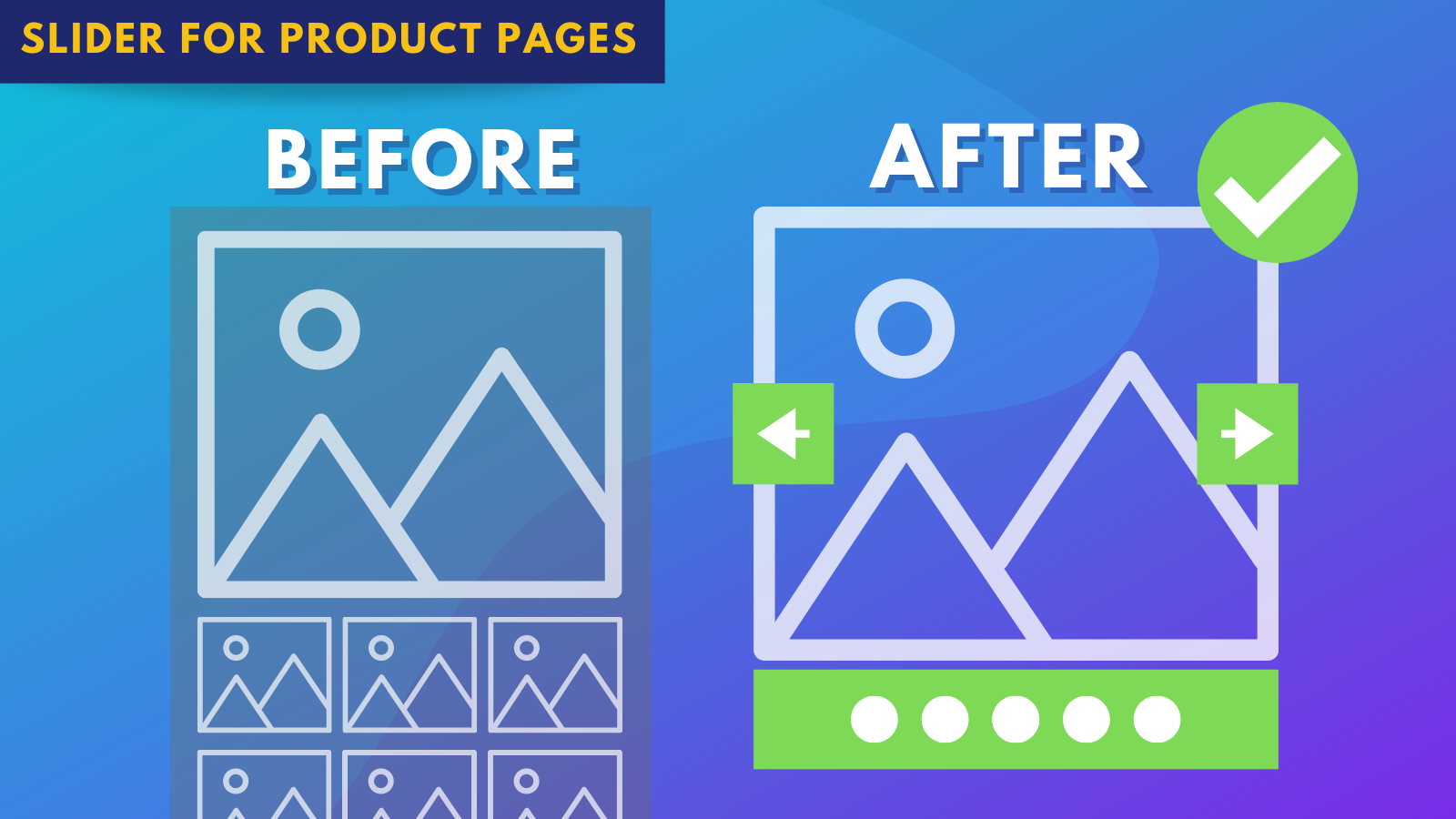 Product Page Slider & Gallery