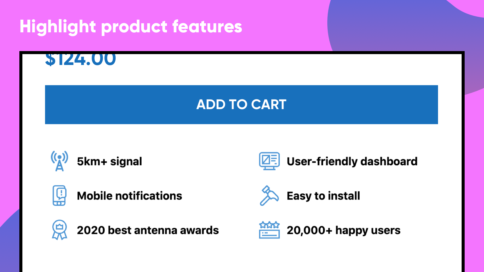 Guarantees & Features Icons