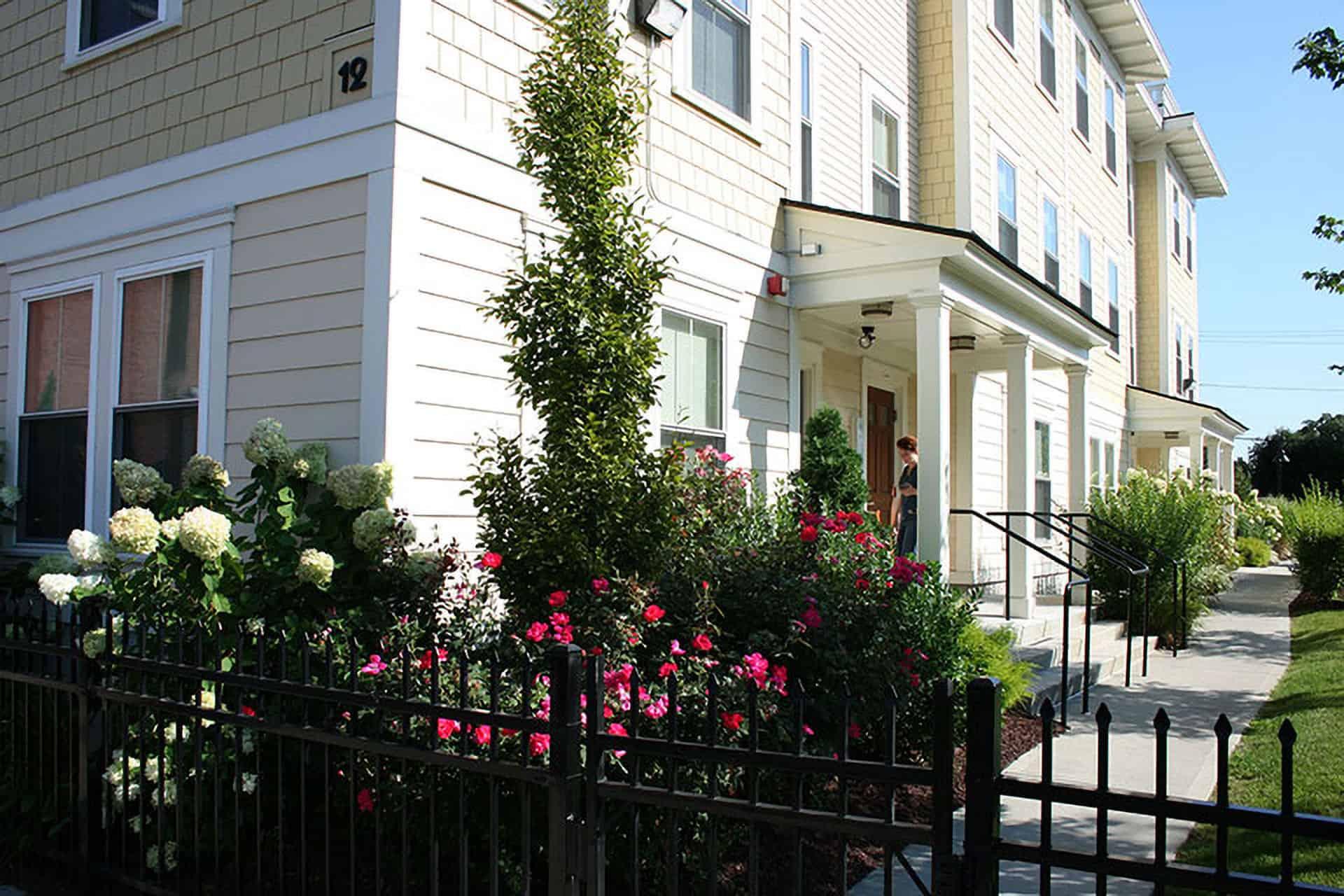 This 10 unit apartment complex is part of SWAP's Trinity Place development