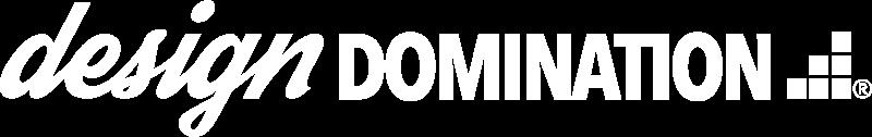White Design Domination logo