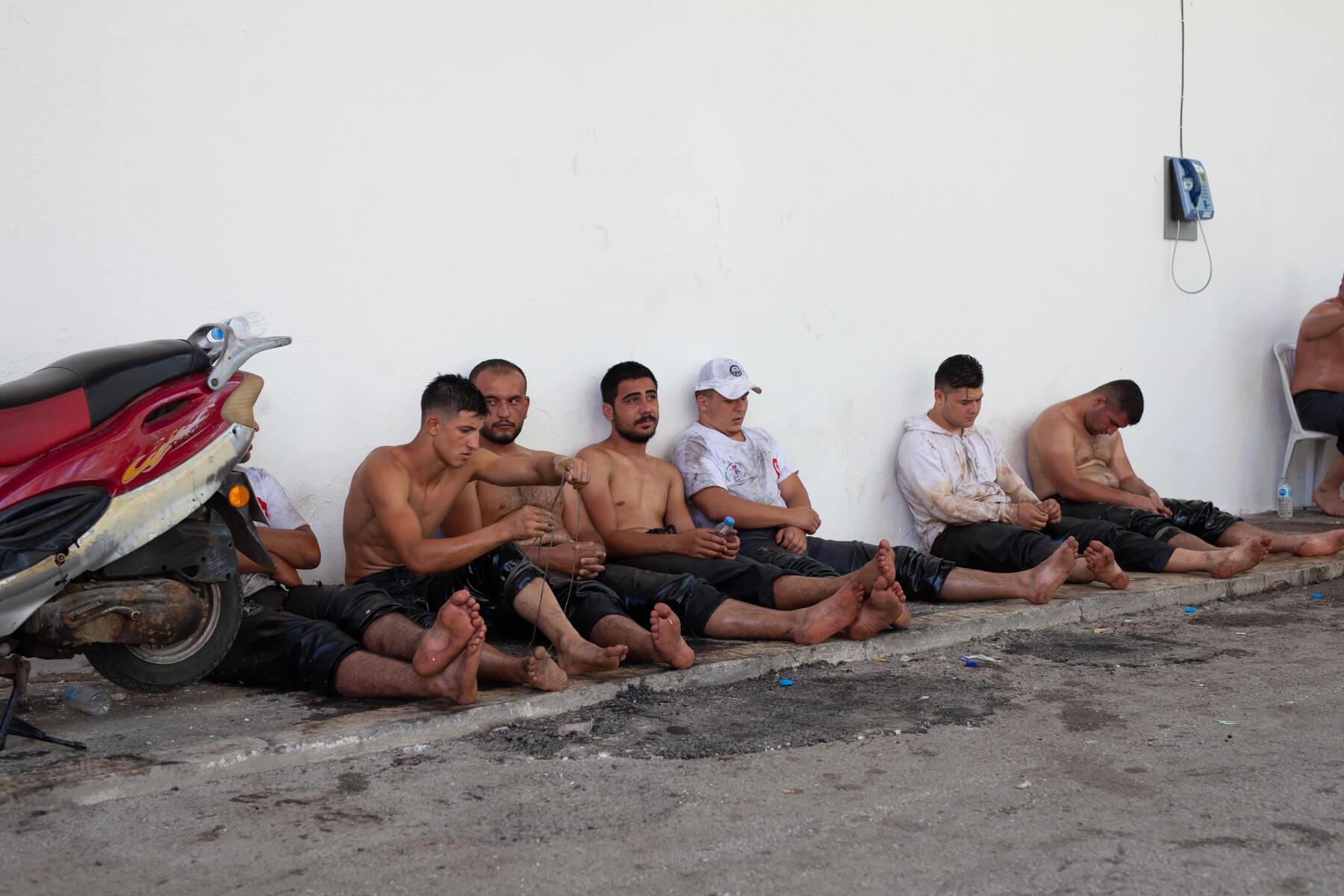 Robin Kirchner Pehlivan Kirkpinar turkish oil wrestling