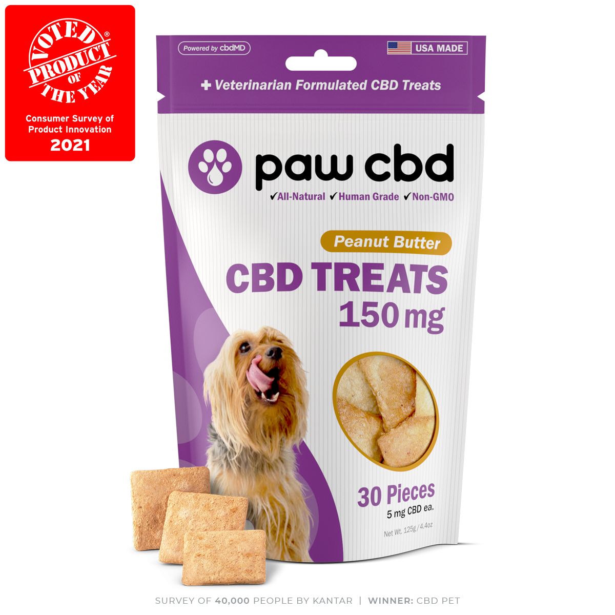 Peanut Butter - Dog Treats