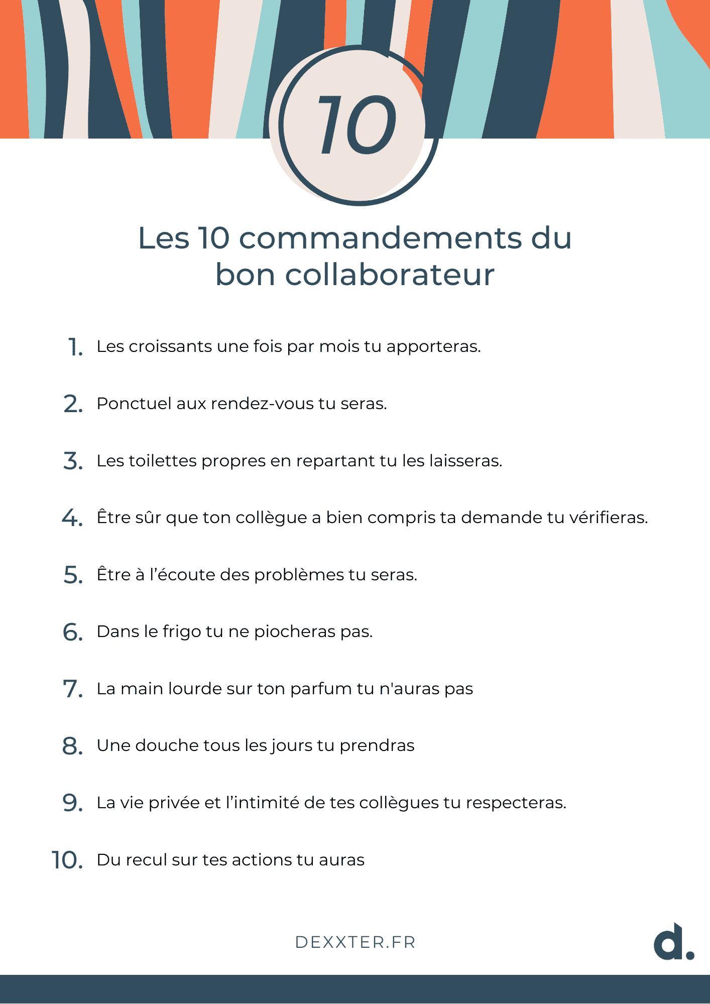 10 commandements gestion de crise en entreprise