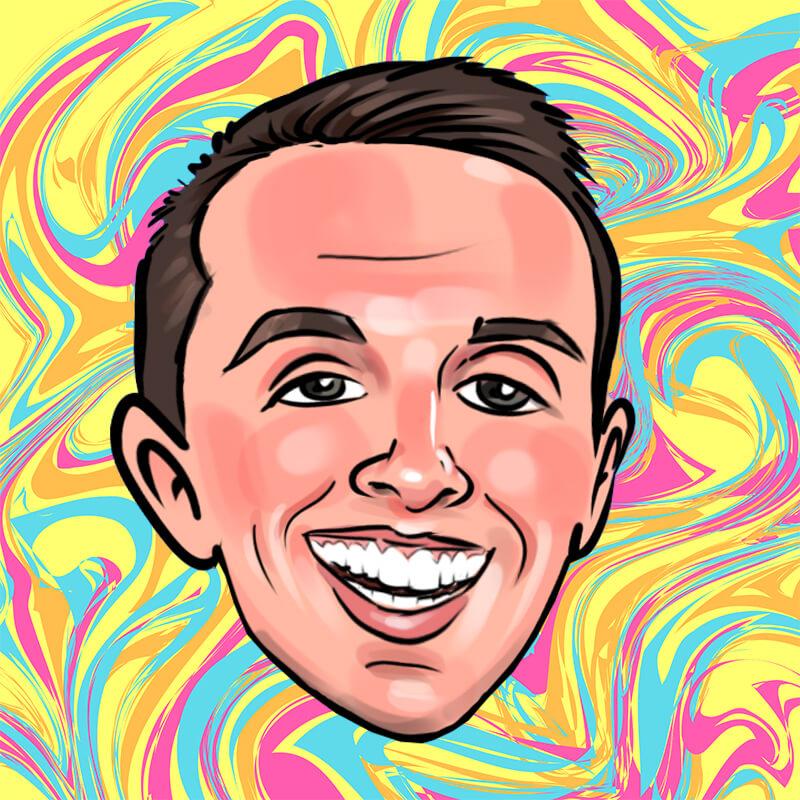 Caricature of Jared Falkner