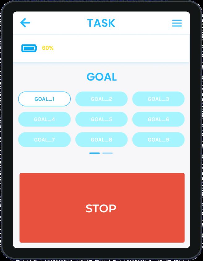 Add task and goal: Seirios Simple
