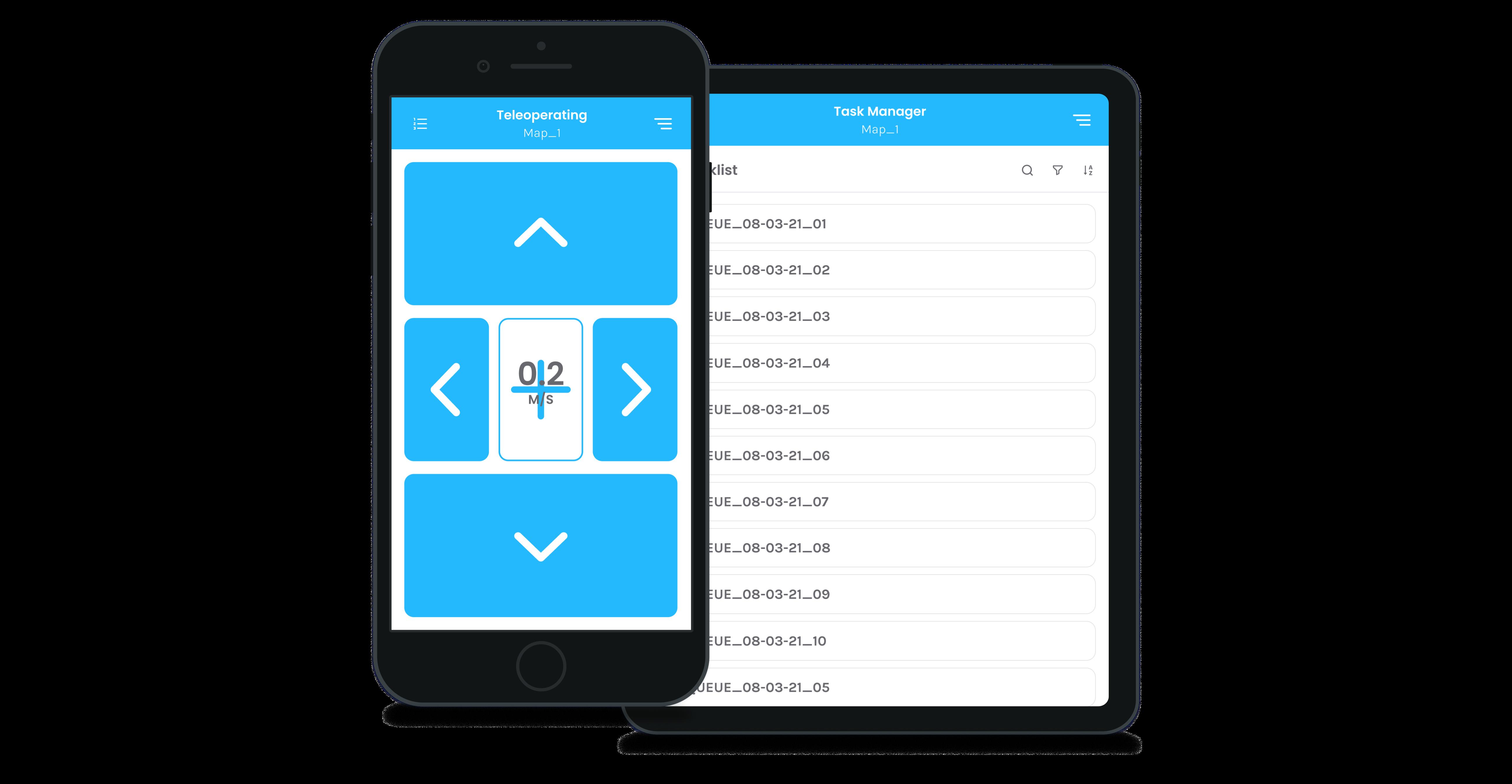 Seirios: Easy interface robot navigation system