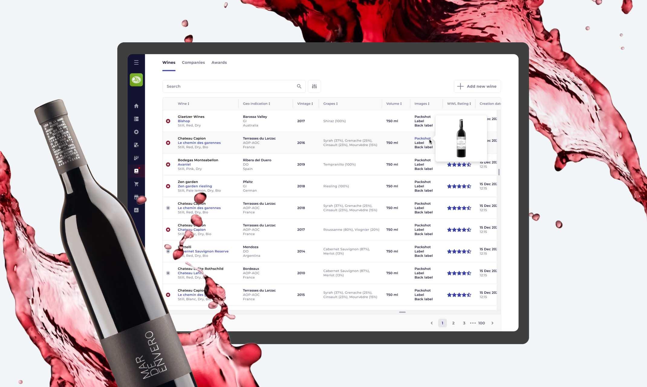 World Wine List