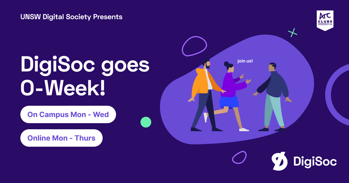 DigiSoc Goes O-Week!