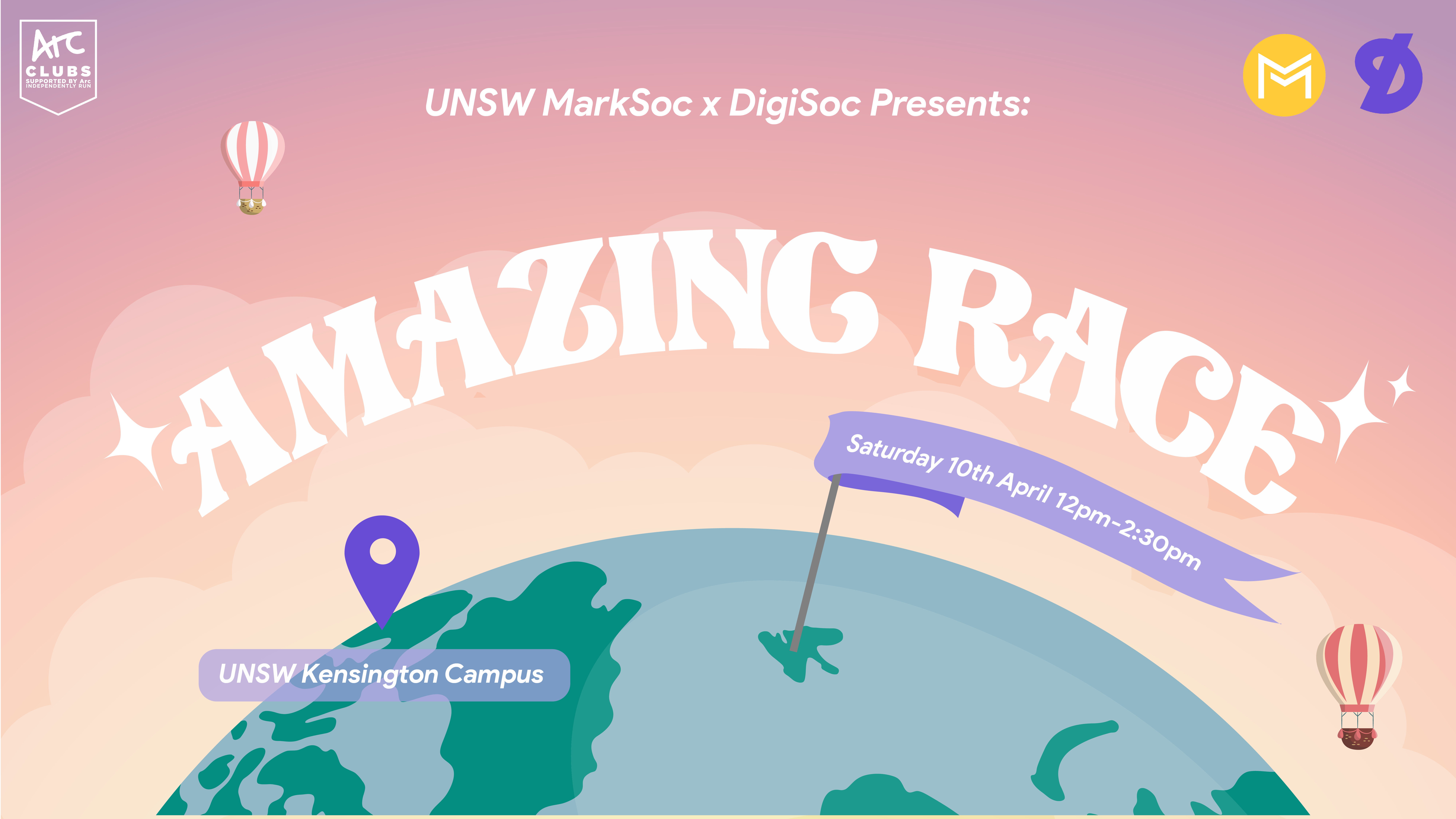 DigiSoc x MarkSoc Presents: Amazing Race