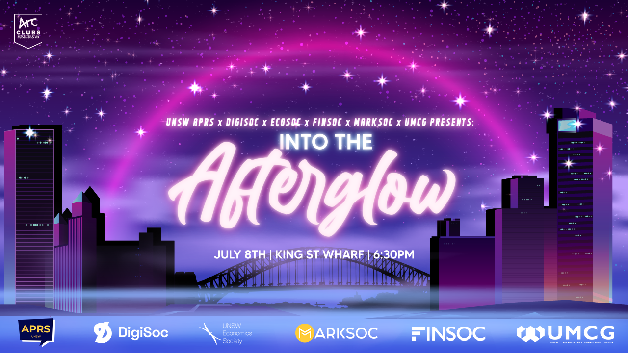 UNSW Interfaculty Cruise: Into the Afterglow