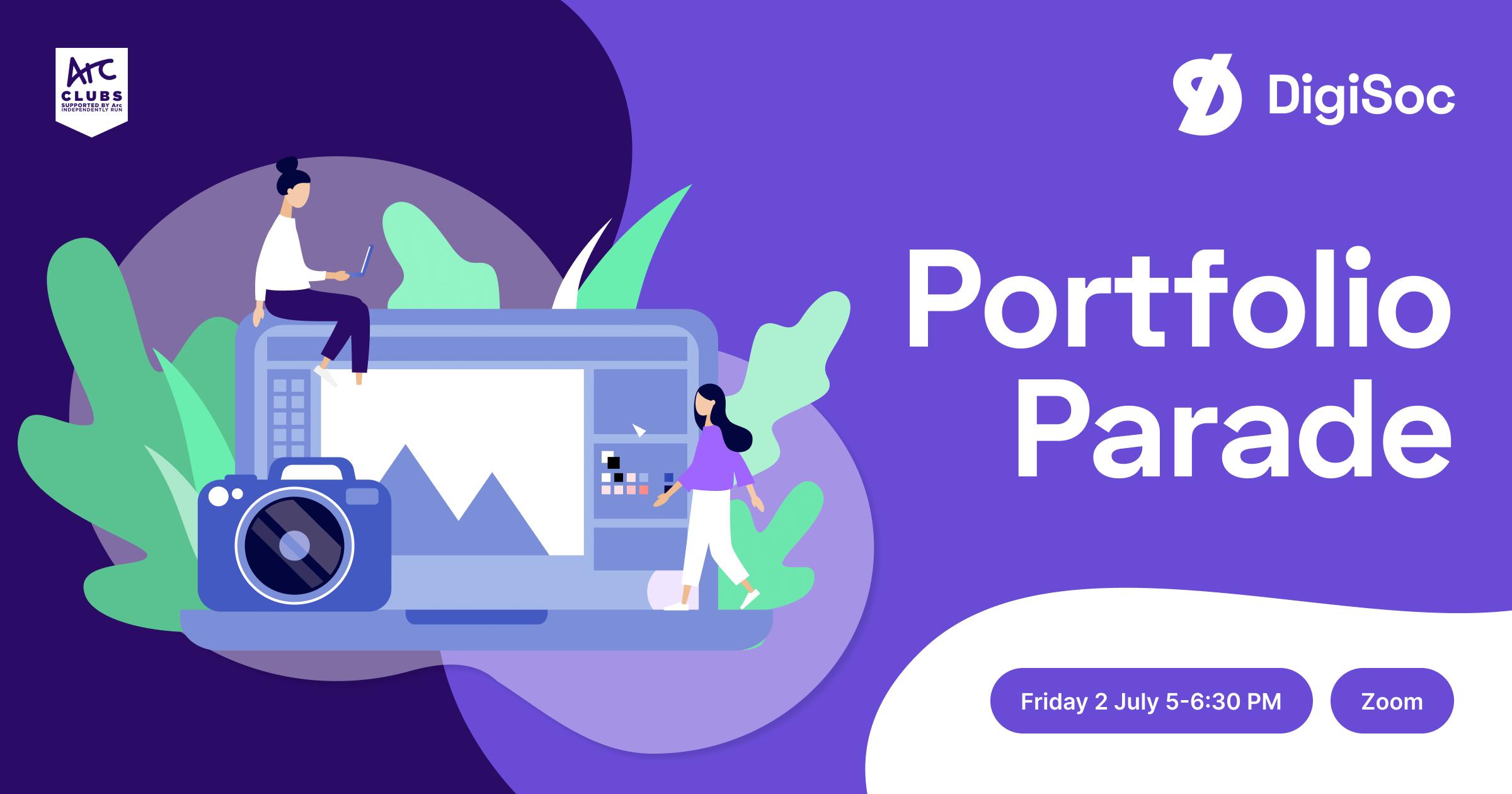 DigiSoc Presents: Portfolio Parade